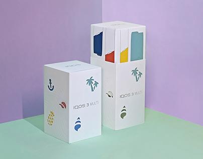 Summer Packaging Design | IQOS