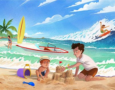 VocArt App Holiday&Travelling Set