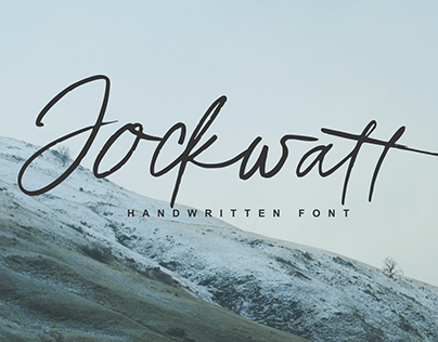FREE Jockwatt Chic Calligraphy