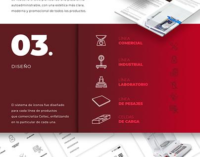 Balanzas CELTEC Argentina - Website