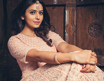 Rakul Preeth Singh for You and I Diwali Edition.