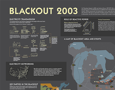 Blackout 2003 Infographics