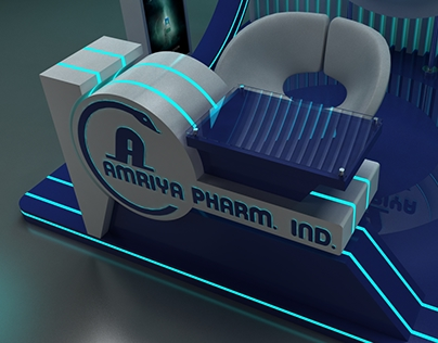 AMRIYA PHARM BOOTH (3x3) to (3x6).