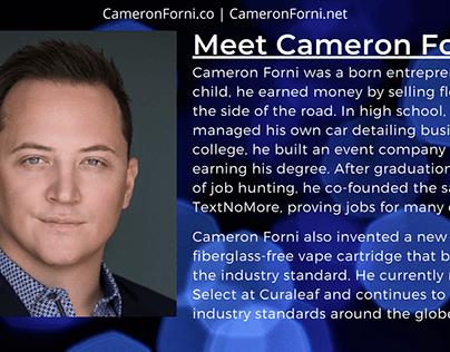 Meet Cameron Forni, Entrepreneur