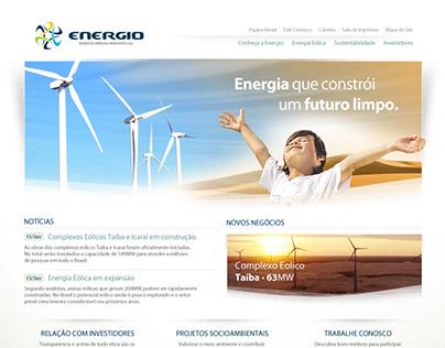 Energio, brand & web