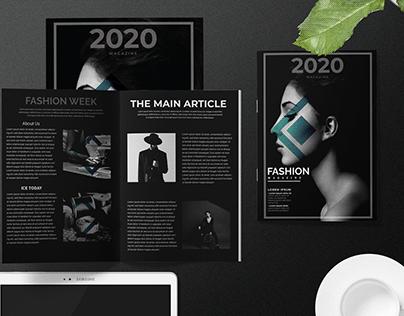 Company profile | Magazine design