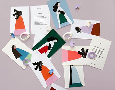 Atelier Piino Postcards