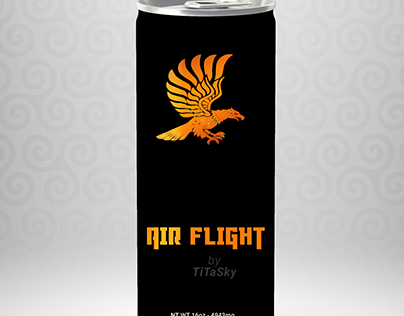 Can packaging design. Energy drink design