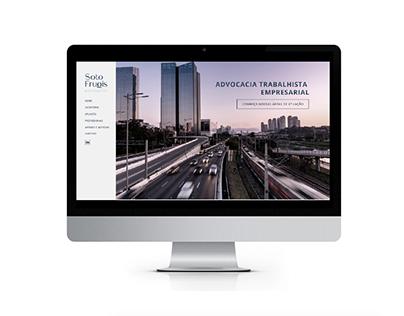 Sotto Frugis Advogados | branding, design gráfico e web
