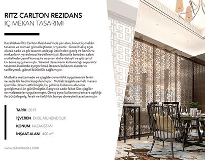 RITZ CARLTON - KAZAKHSTAN