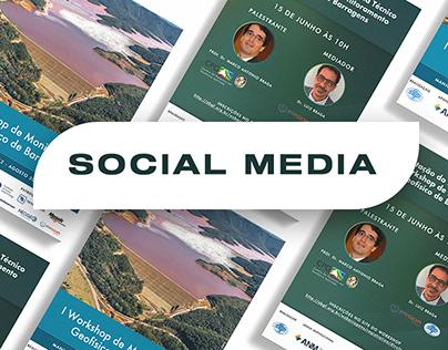 Social Media – Workshop de Monitoramento de Barragens