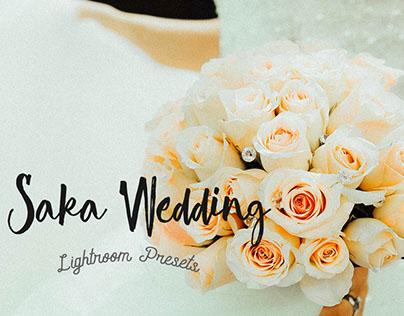 Saka Wedding Lightroom Presets