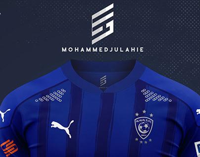 Al Hilal T Shirt Design