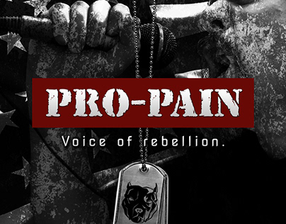 "PRO-PAIN ""Voice of Rebellion"" CD artwork"