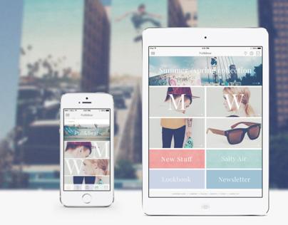 Pull&Bear _ web & app concept