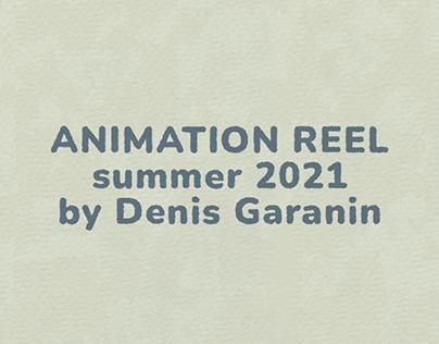 animation reel summer 2021