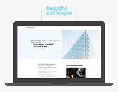 HamadaCorp - Web Design