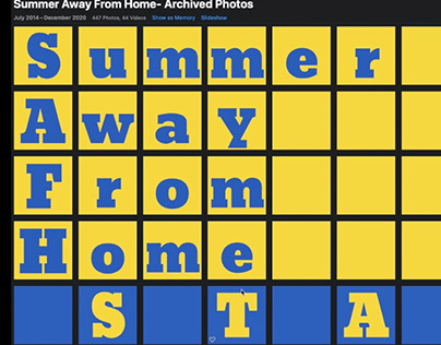 Summer Away from Home