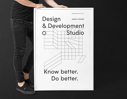 Agency Undone | Design Studio