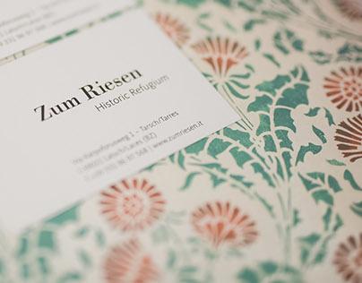 ZUM RIESEN - Corporate Design