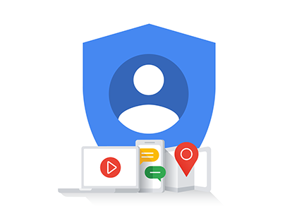 Google Create Account Illustrations