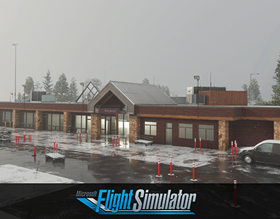Aspen airport Microsoft Flight Simulator