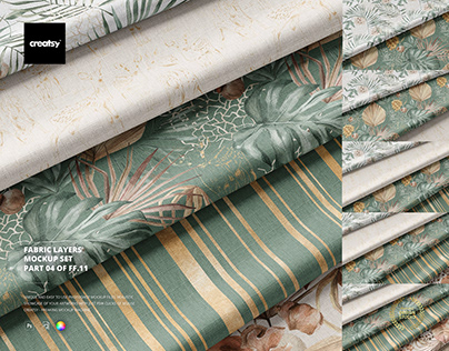 Fabric Layers Mockup Set (04FFv.11)