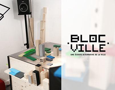 Jeu interactif & sonore : Blocville
