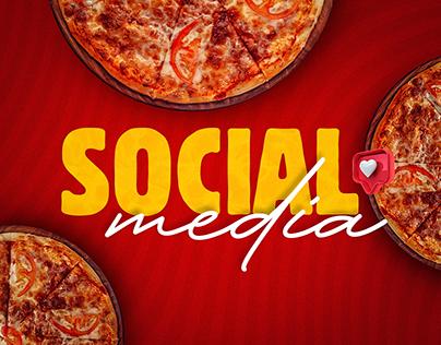Social Media   Pizzaria - Projeto autoral