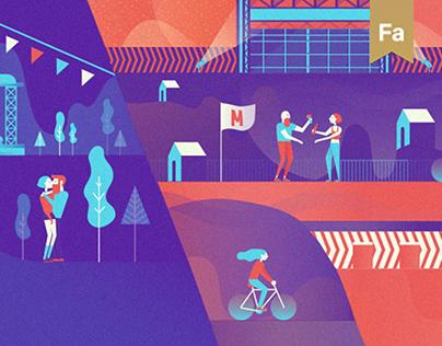 Startup Market for Festivals