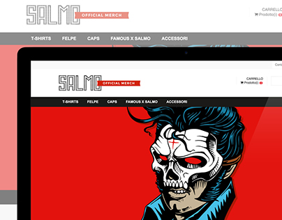 SALMO OFFICIAL-MERCH - E-commerce Website