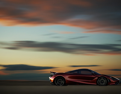 McLaren 720s at Sunset
