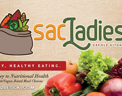 Sac Ladies Creole Kitchen Branding