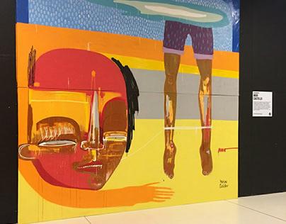 PAINEL ART BATTLE + Park Shopping Canoas
