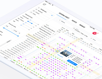 Booking manager Redesign