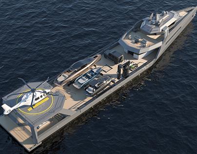63 M Support Yacht
