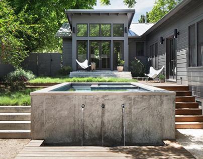 Garner Pool & Casita by Elizabeth Baird Architecture &