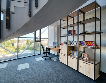 Interior photography - office building