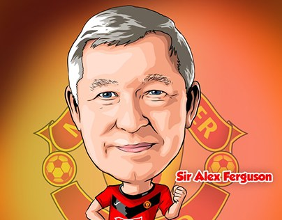 SIR ALEX CARICATURE