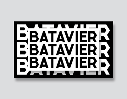 New Batavier font
