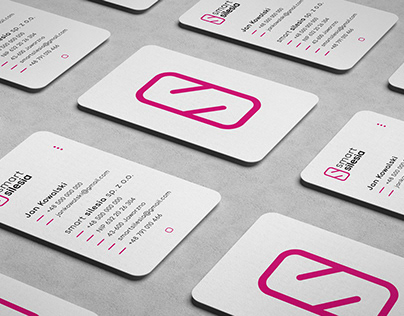 smart silesia - Brand Identity for a Smartphone shop