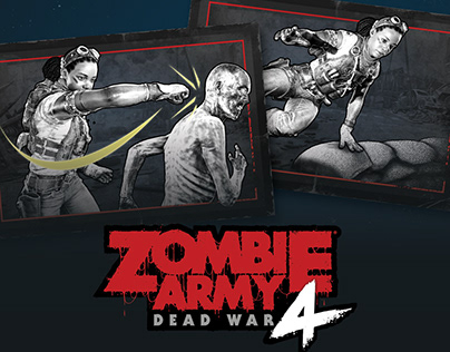 Zombie Army 4 Dead War Tutorial UI