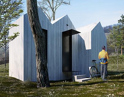 CHILLYA - Modular tiny hut