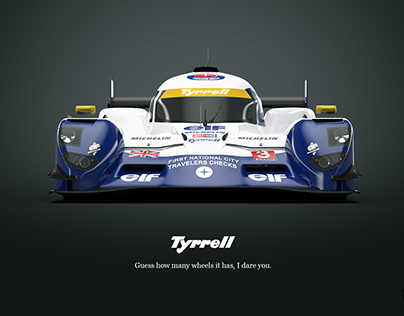 Tyrrell P016 LMP1
