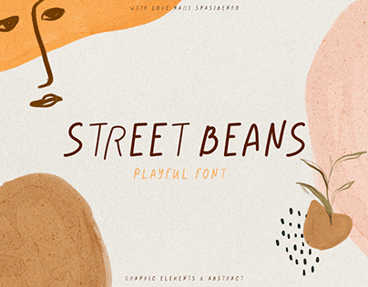 Street Beans || Fun Font & Extras