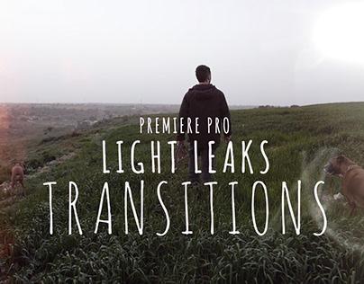 Light Leaks Transitions for Premiere Pro
