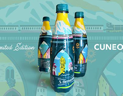 San Bernard's bottle - Cuneo limited edition