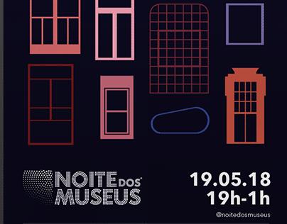 Campanha de Divulgação do Evento Noite dos Museus 2018