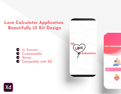 The Love Calculator UI Kits