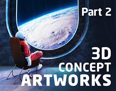 3D Concept Artworks Part 2
